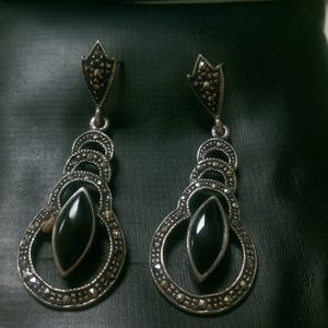 Sterling silver Jewelry - Sterling Silver Vintage Dangle Earrings